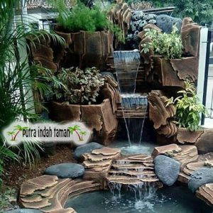 Jasa Pembuatan Kolam Relief Tebing